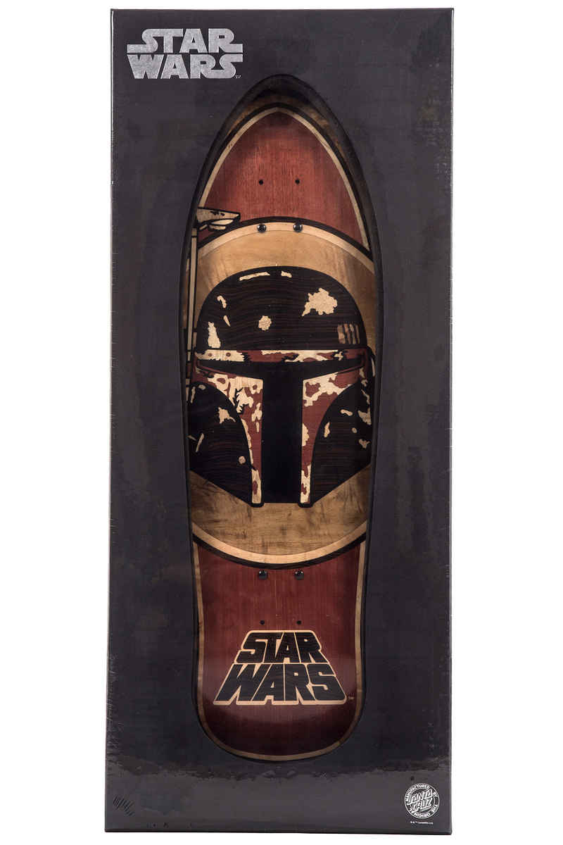 "Santa Cruz x Star Wars Boba Fett Inlay 10.35"" x 31"" Tavola"
