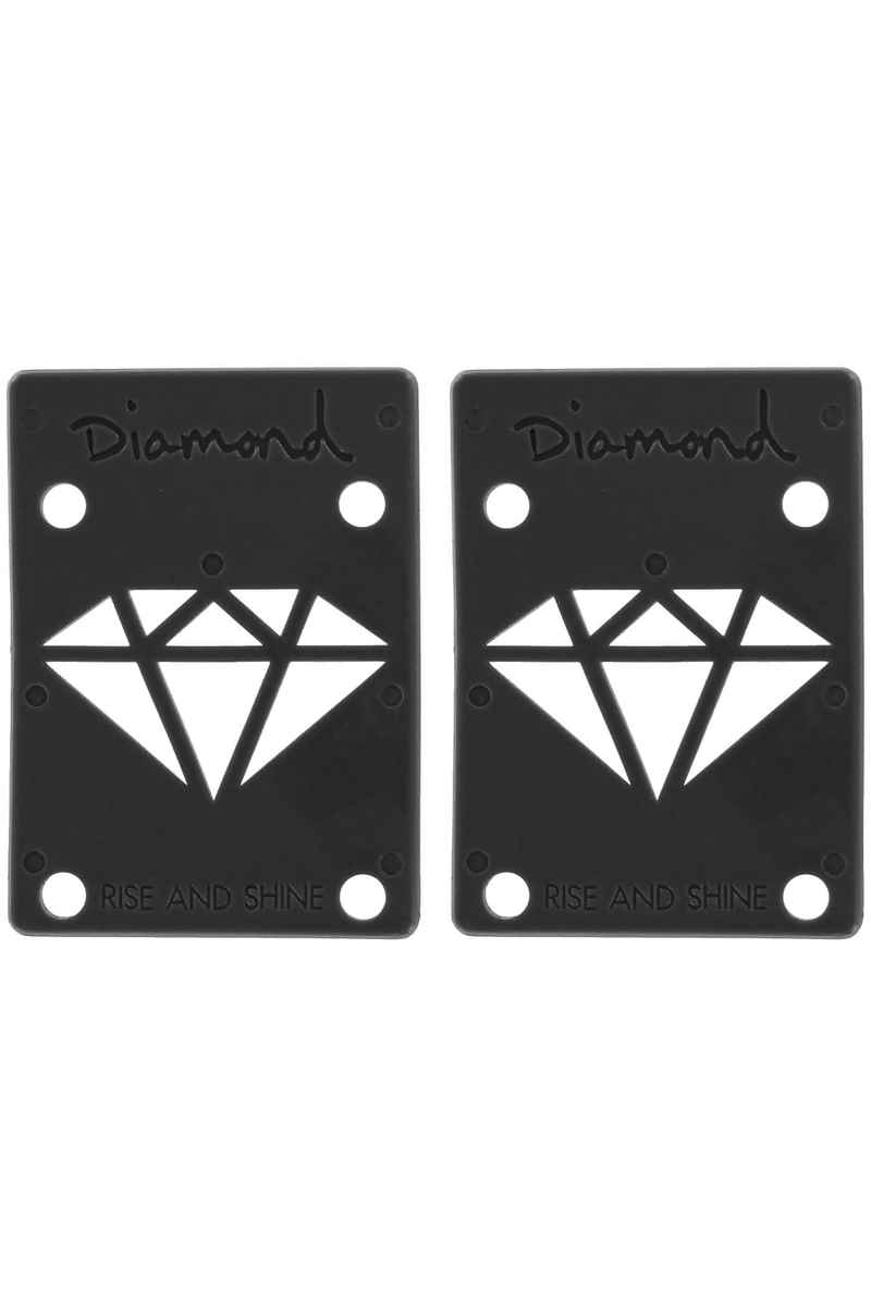 "Diamond 1/8"" Basic Riser Pads (black) 2 Pack"