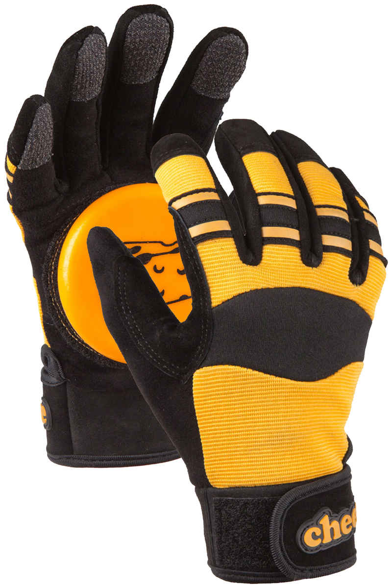 Cheese Basic Slide Handschuhe (black yellow)