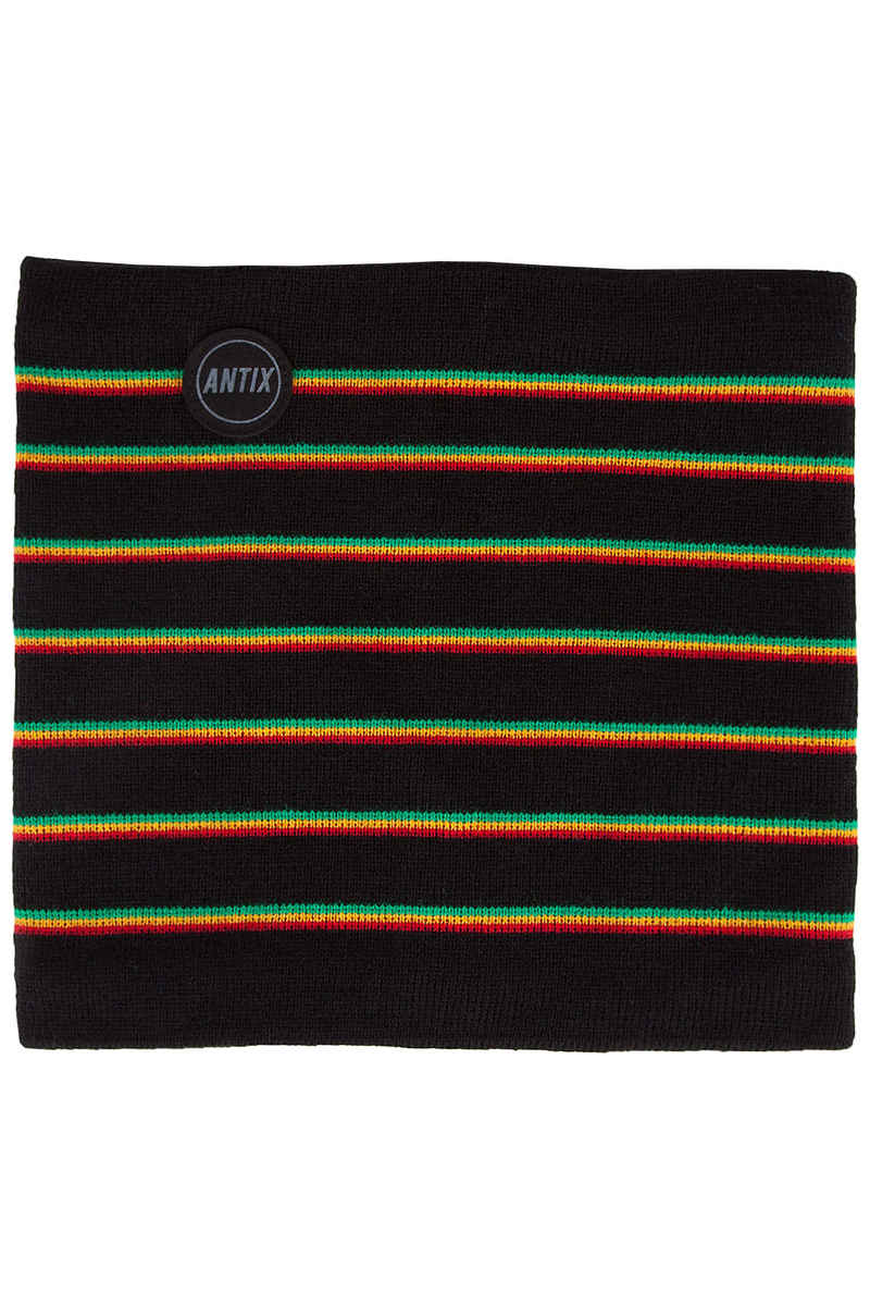 Antix Rasta Neckwarmer (black multi)
