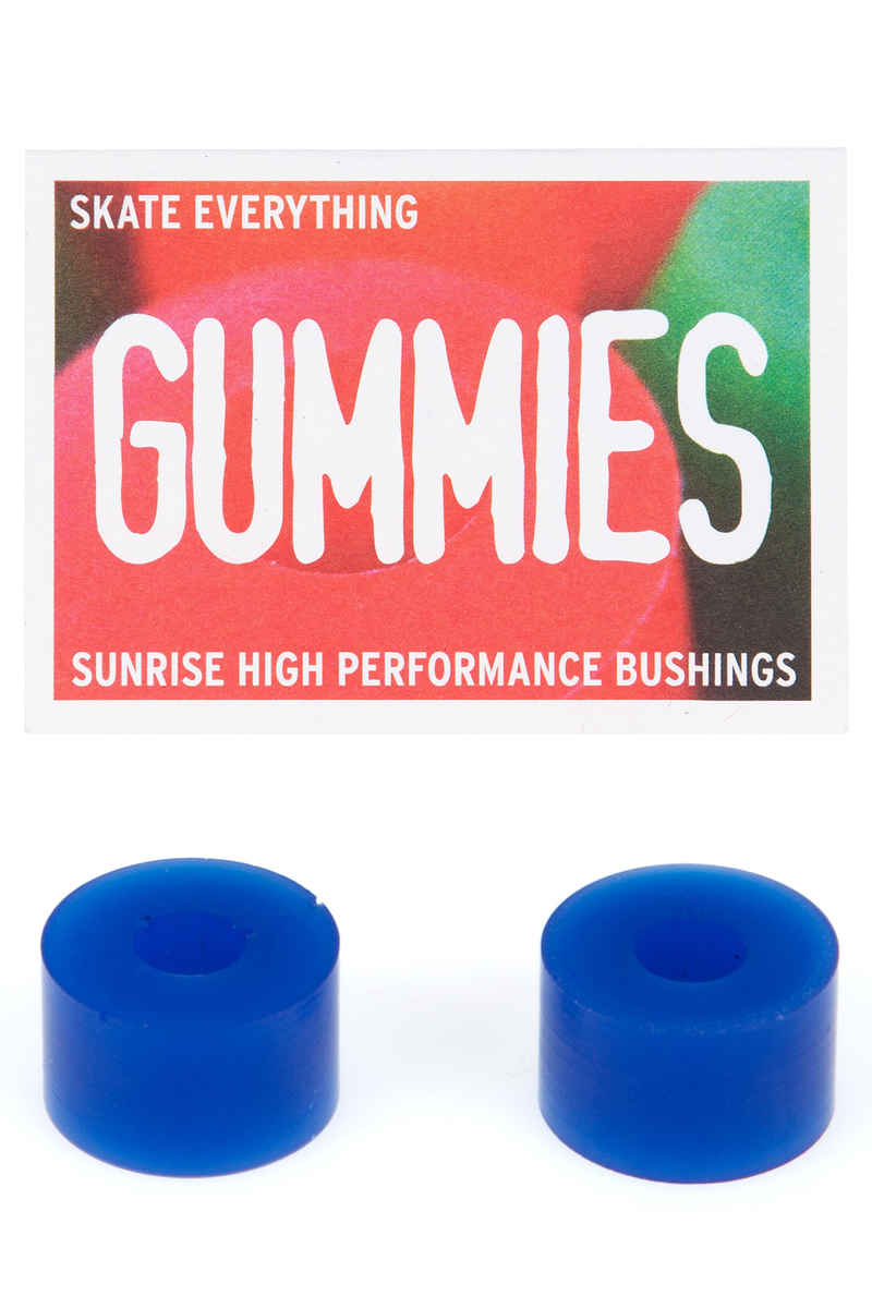 Sunrise Gummies Double Barrel 75A Bushings (blue) 2 Pack