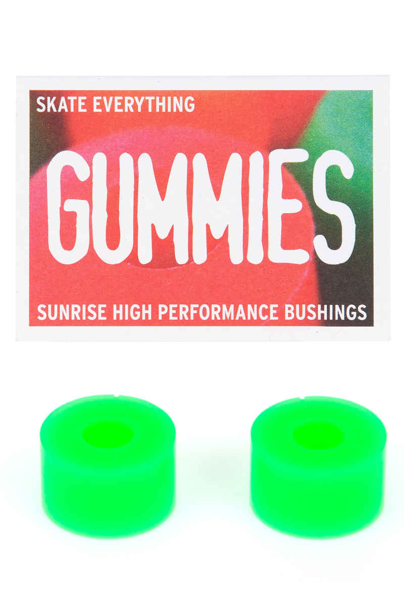 Sunrise Gummies Double Barrel 90A Bushings (green)
