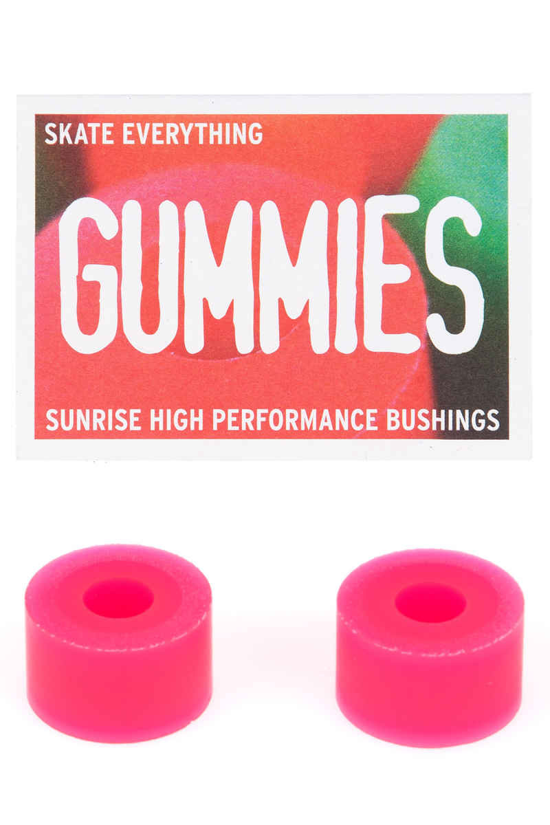 Sunrise Gummies Double Barrel 95A Bushings (pink) 2 Pack