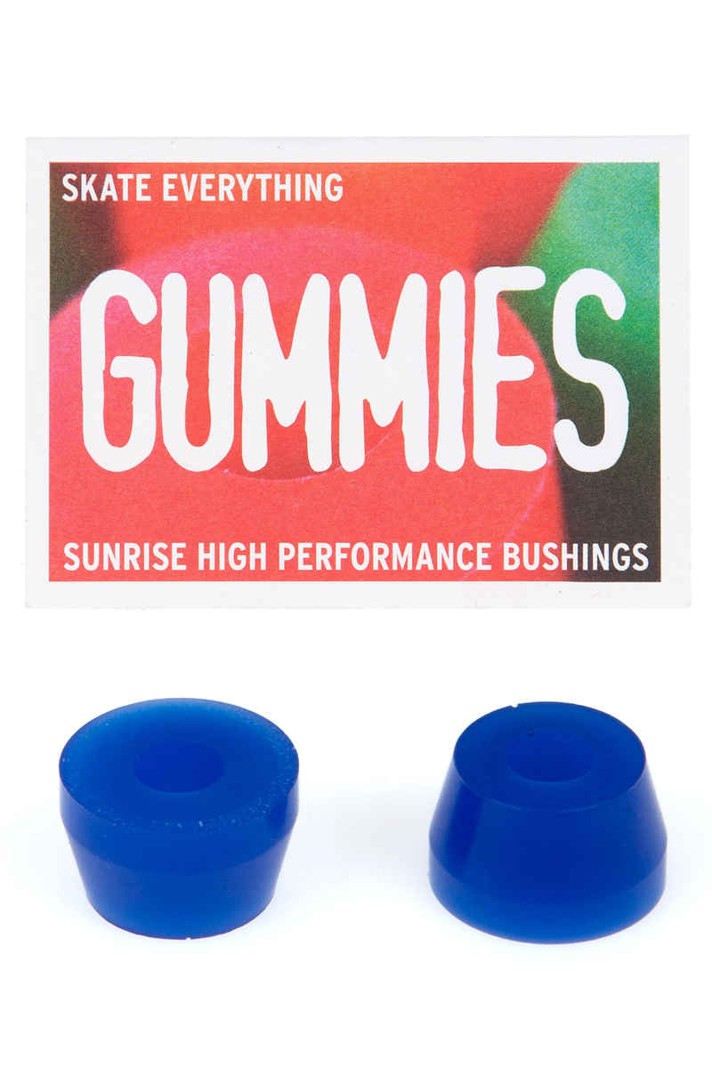 Sunrise Gummies Double Cone 75A Bushings (blue)