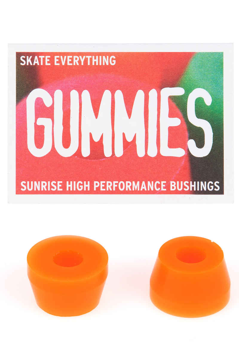Sunrise Gummies Double Cone 80A Bushings (orange)