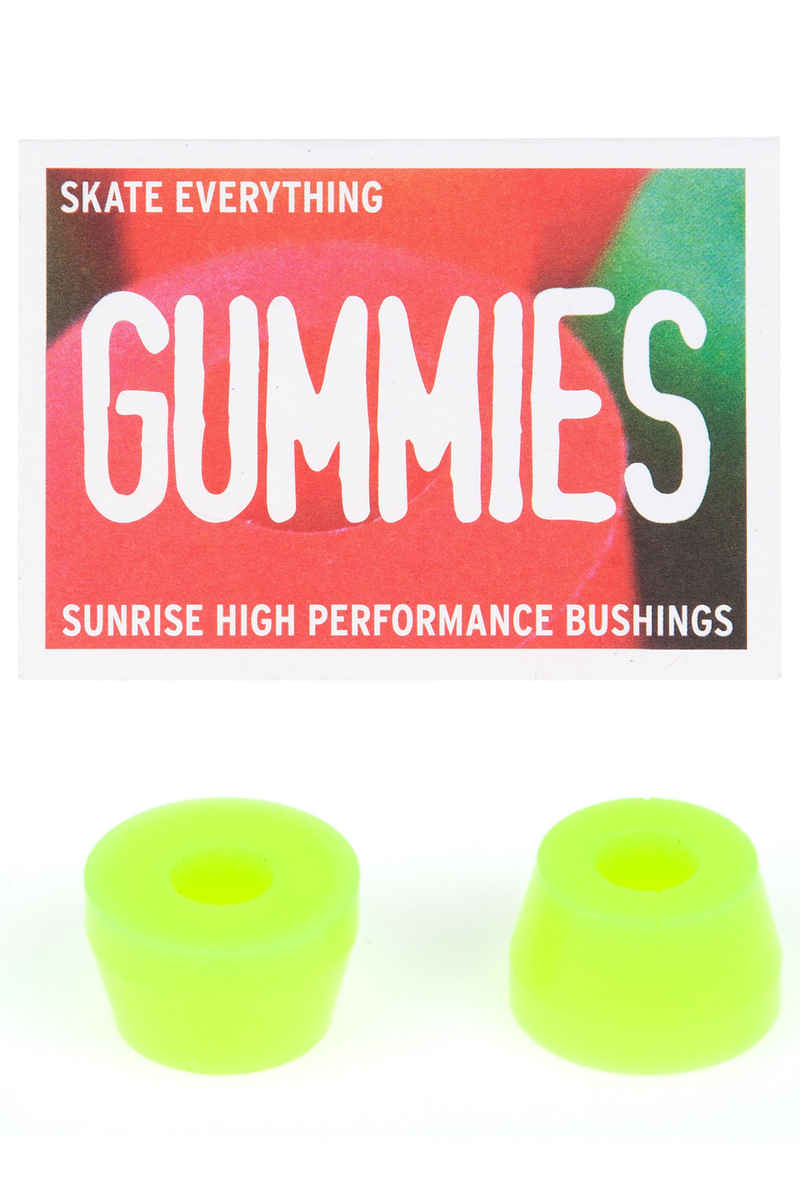 Sunrise Gummies Double Cone 85A Bushings (yellow) 2 Pack