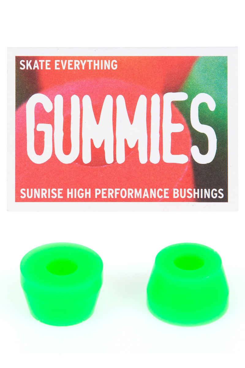 Sunrise Gummies Double Cone 90A Bushings (green) 2 Pack