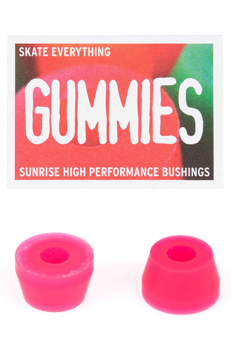 Sunrise Gummies Double Cone 95A Bushings (pink)