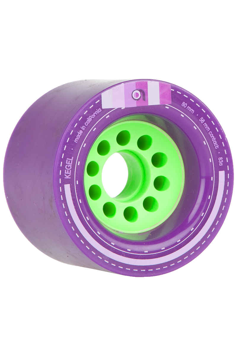 Orangatang Kegel 80mm 83A Wheels (purple) 4 Pack