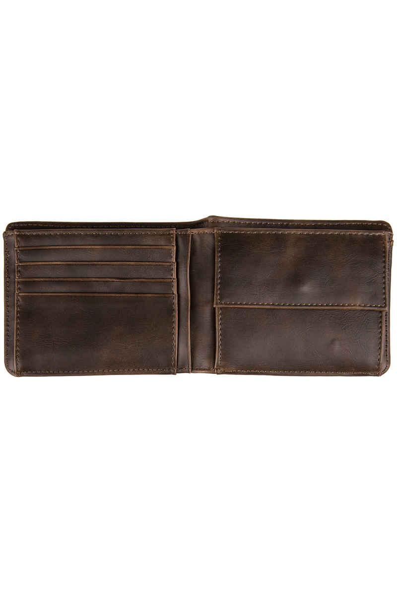 Iriedaily Top 2 Punch Wallet (dark brown)