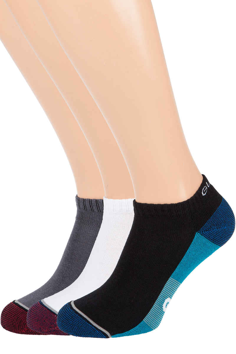 Globe Evan Ankle Calcetines US 7-11 (white navy black) Pack de 5