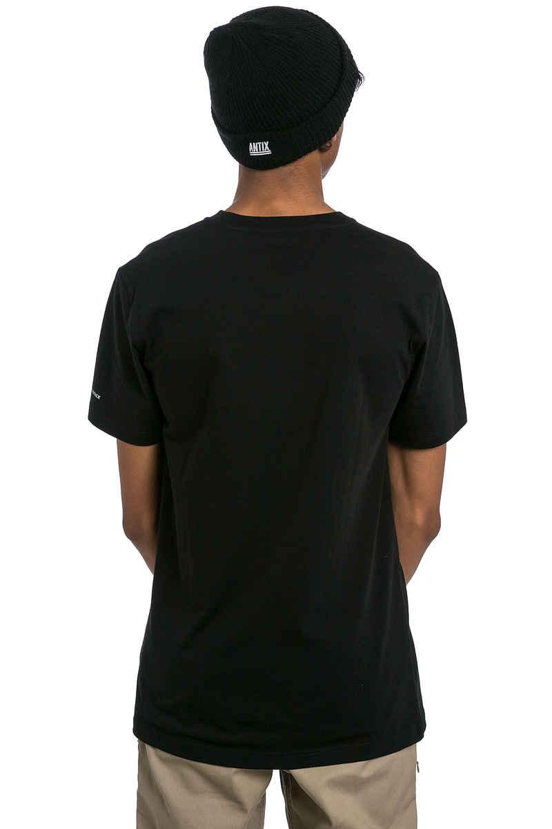 Cleptomanicx Möwe T-Shirt (black creme)