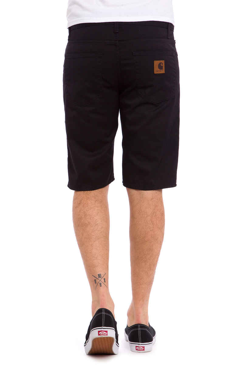 Carhartt WIP Davies Questa Shorts (black rinsed)