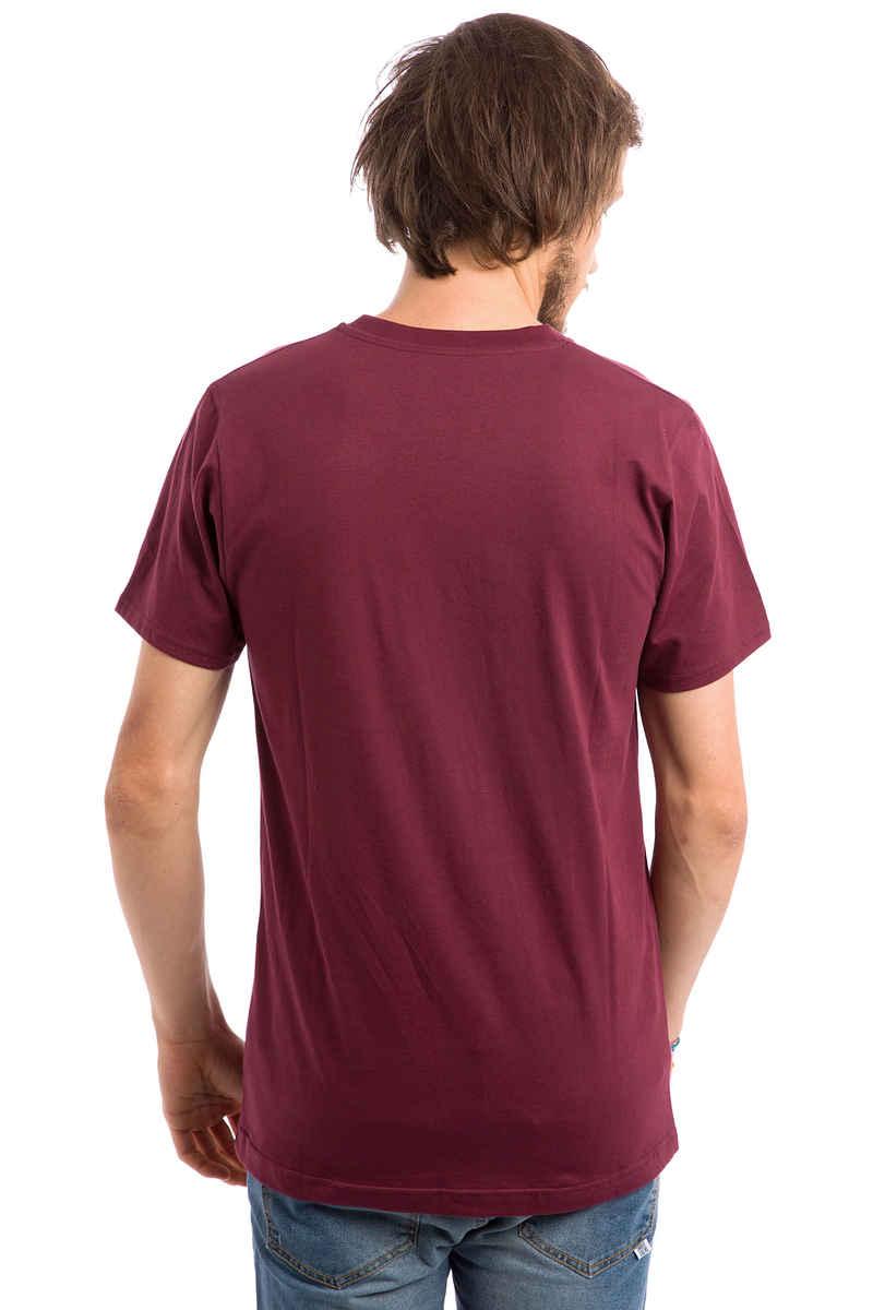 Anuell Louis T-Shirt (burgundy)