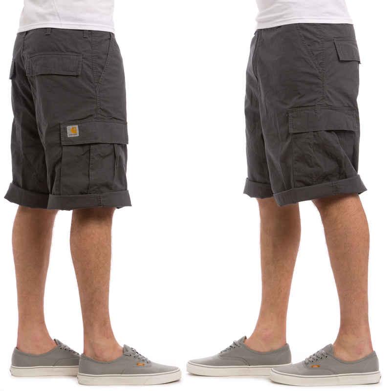 Carhartt WIP Cargo Columbia Shorts (blacksmith rinsed)