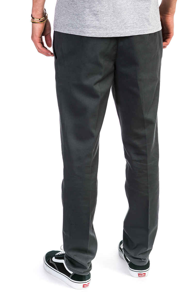 Dickies Slim Fit Work Pantalones (charcoal grey)
