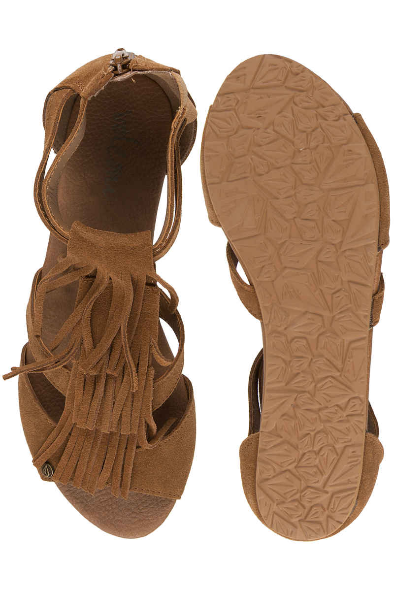 Volcom Backstage Teenslippers women (cognac)