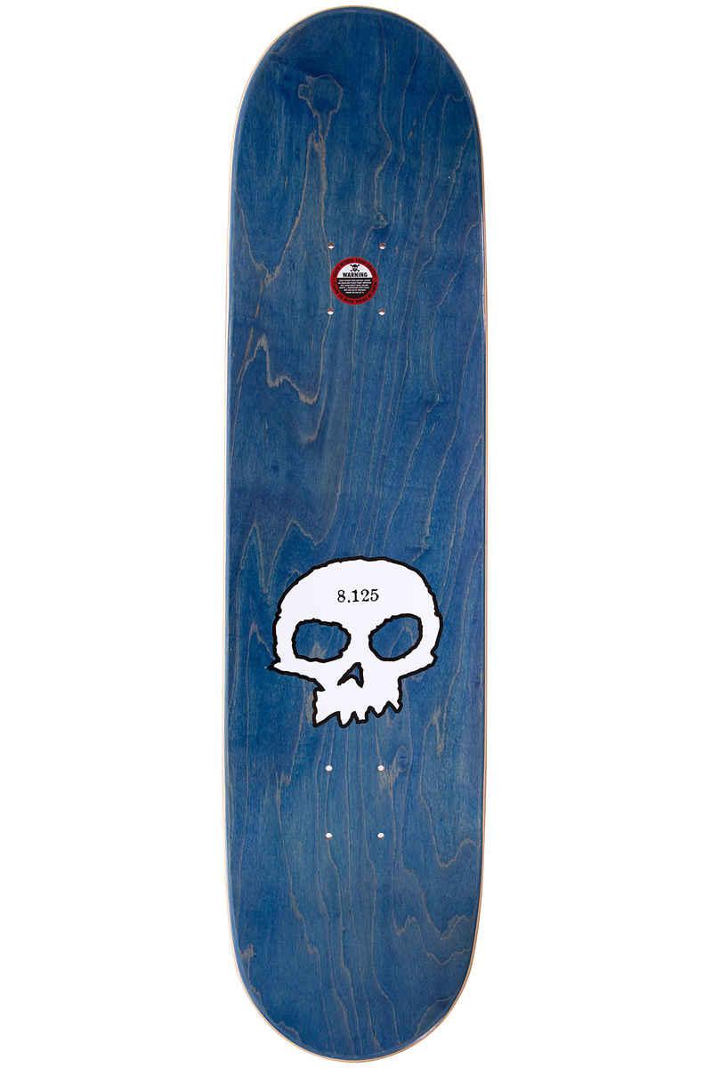 "Zero 3-Skull Blood Black Classic 8.125"" Deck (black)"