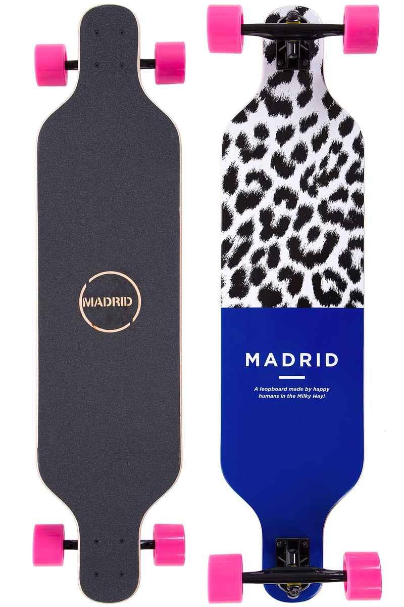 """Madrid Trance TM 39"""" (99cm) Komplett-Longboard (leopard)"""