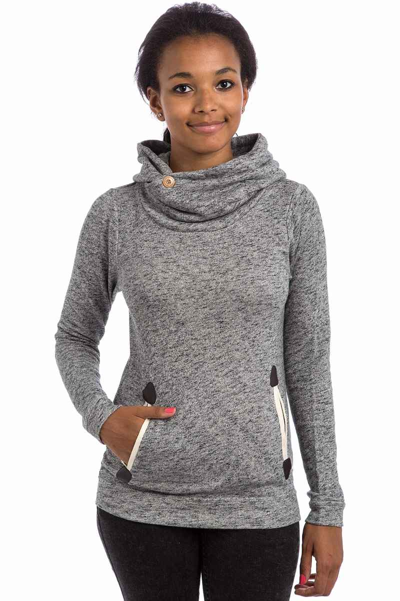 Iriedaily Turtle Space Sweater women (charcoal melange)