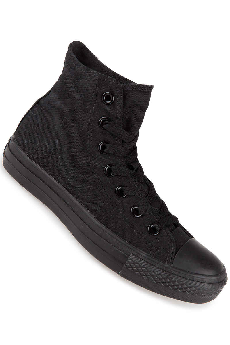 Converse Chuck Taylor High All Star Canvas Chaussure (black monochrome)