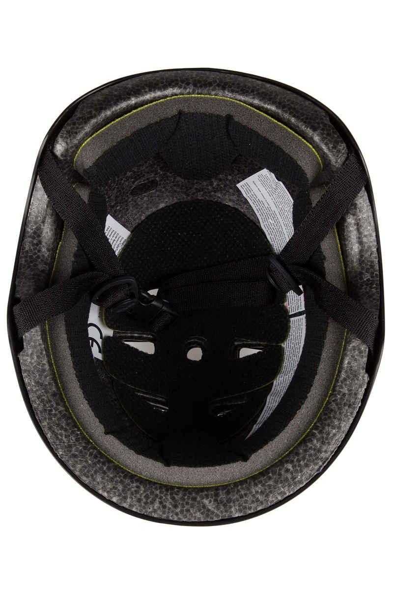 TSG Skate/BMX-Injected-Colors Casco (black)