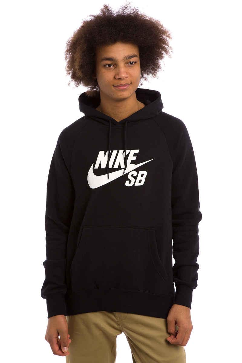 Nike SB Icon Hoodie (black white)
