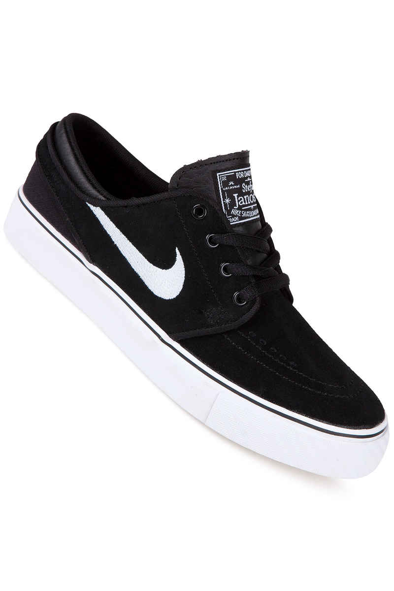 Nike SB Stefan Janoski Schuh kids (black white gum medium brown)