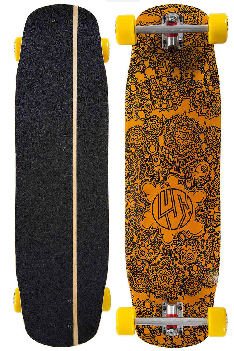 "Lush Grifter 3D 35.5"" Longboard completo"