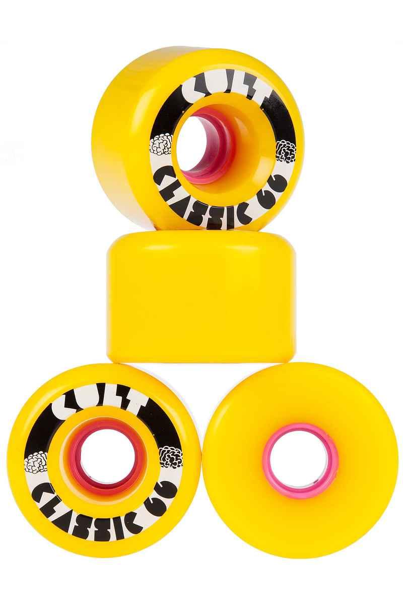 Cult Classics Wiel (yellow) 66mm 80A 4 Pack