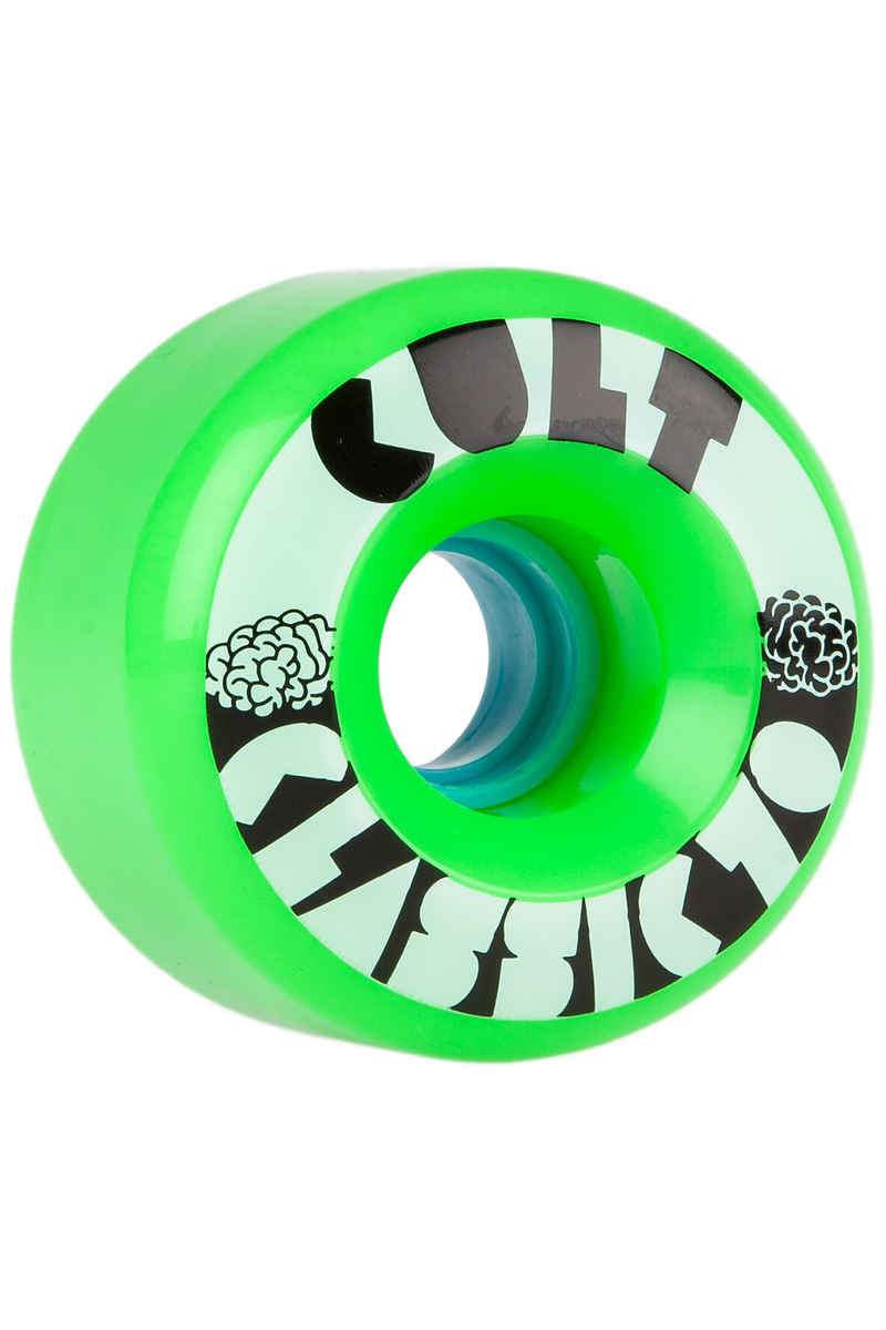 Cult Classics Wiel (green) 4 Pack 70mm 80A