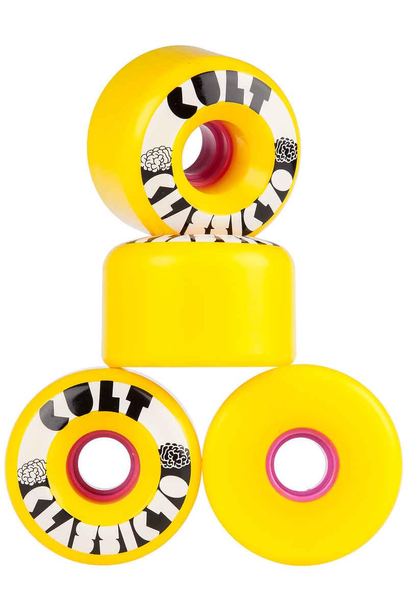 Cult Classics 70mm 80A Rollen (yellow) 4er Pack