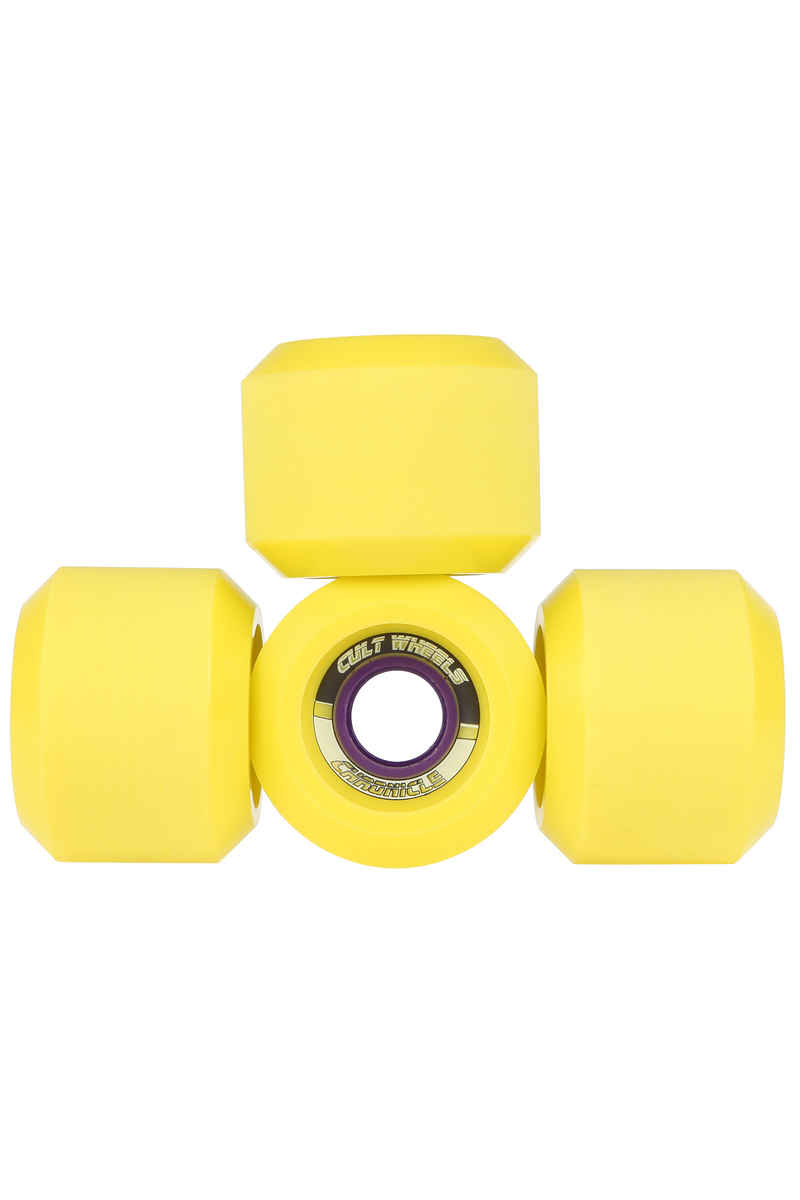 Cult Chronicle SG Rollen (yellow) 65mm 83A 4er Pack