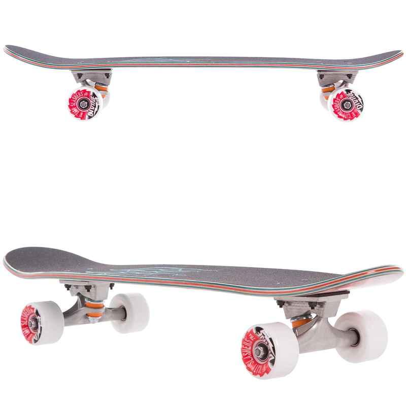 "Riviera Anatomy of a Skateboard 30"" (76,2cm) Cruiser (black)"