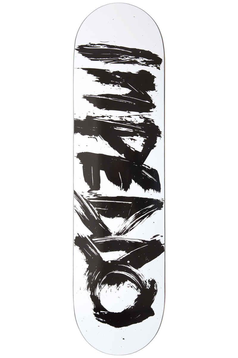 "Inpeddo Brusher 8"" Planche Skate (white black)"