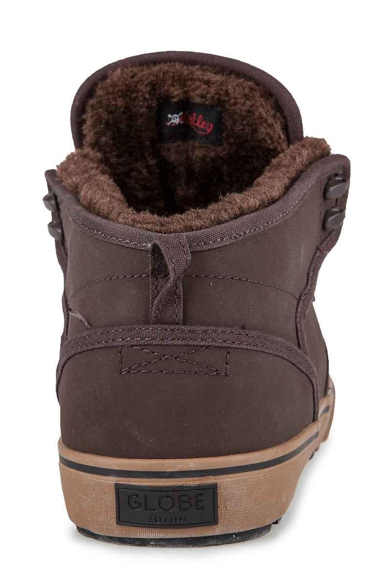 Globe Motley Mid Nubuck Schuh (brown brown fur)