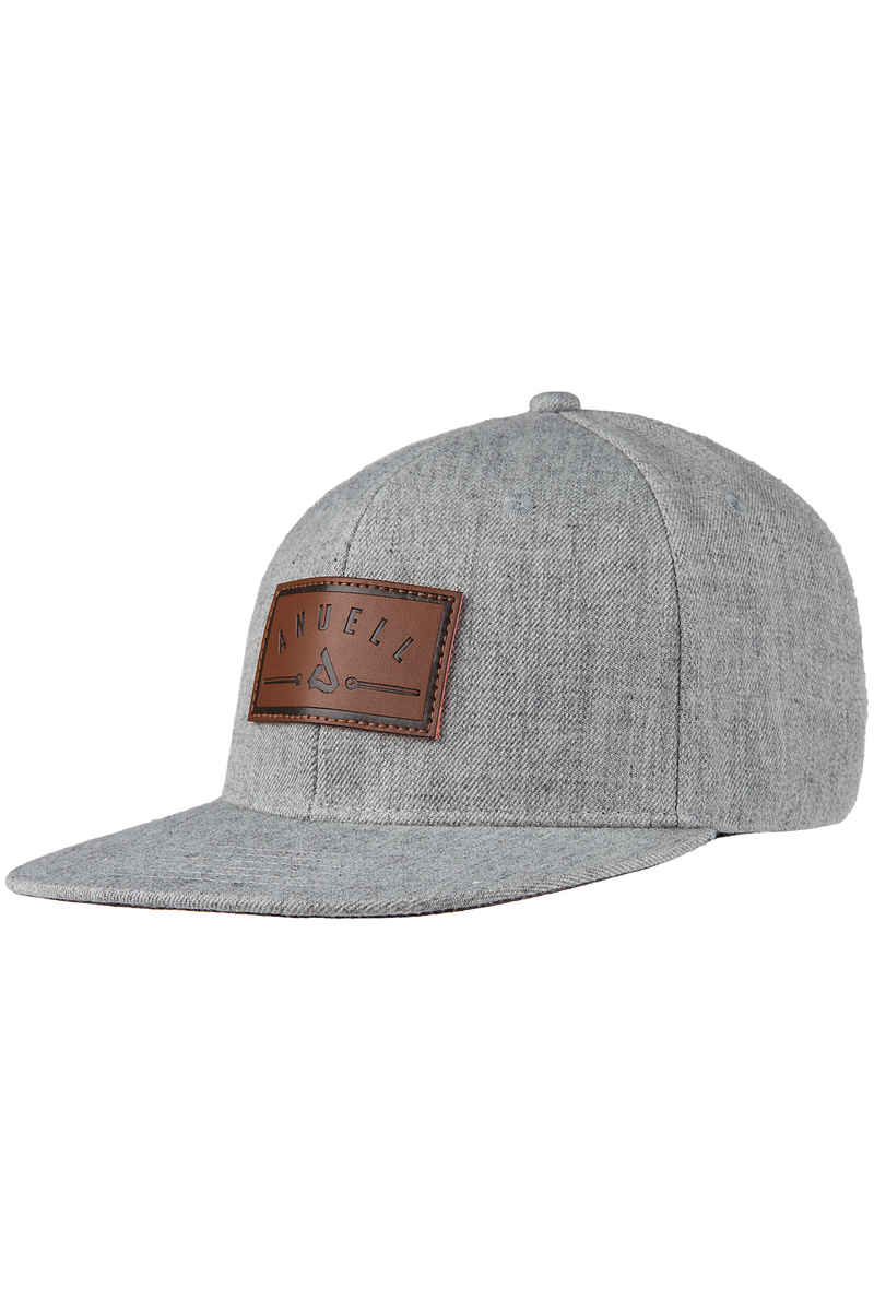 Anuell Graham Snapback Cap (heather grey)