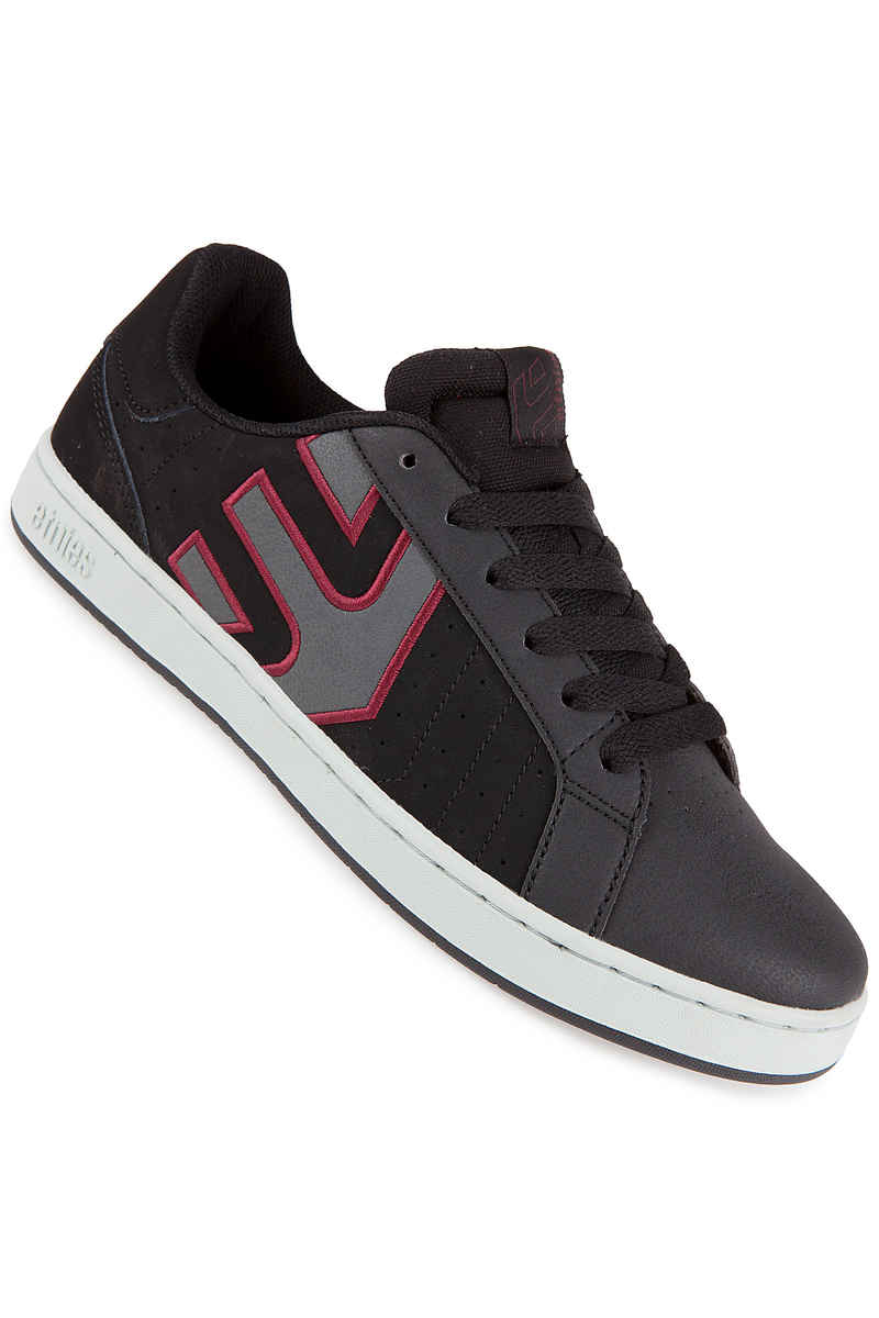 Etnies Fader LS Nubuck Chaussure (black charcoal red)