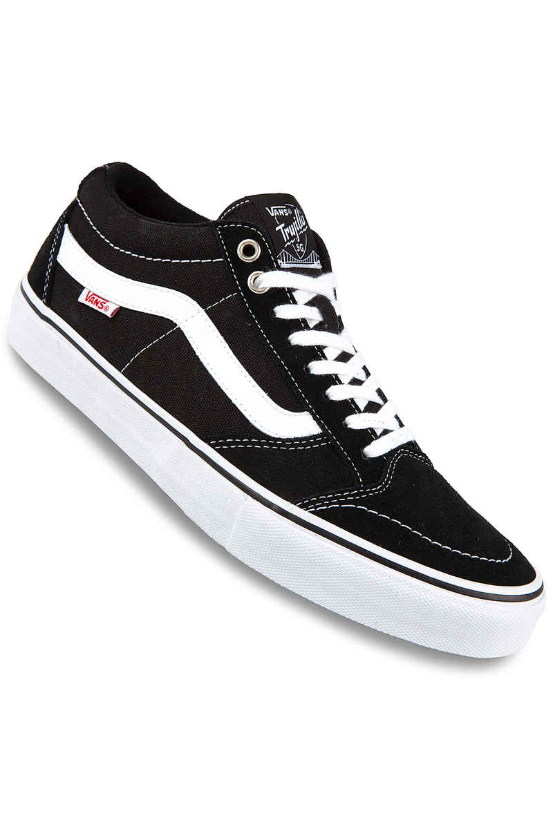 Vans TNT SG Suede Zapatilla (black white)