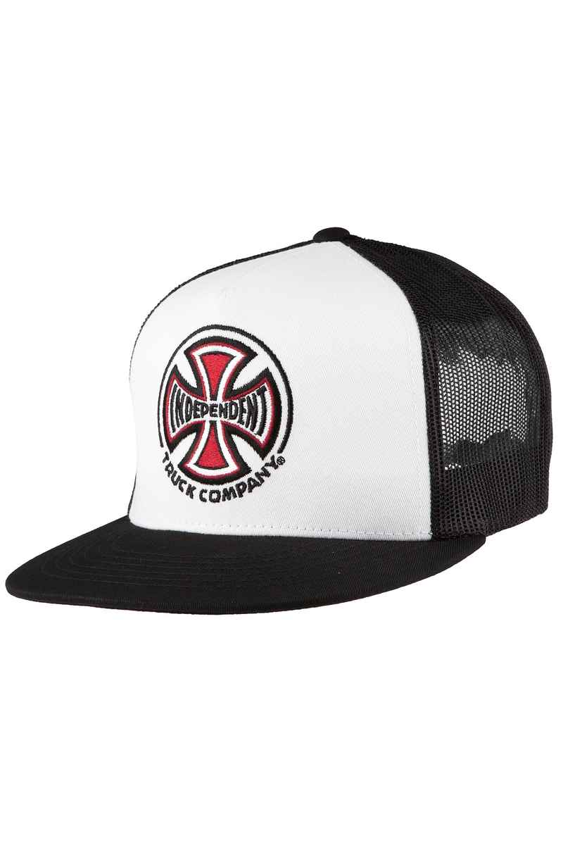 Independent Truck CO Trucker Casquette (white black)