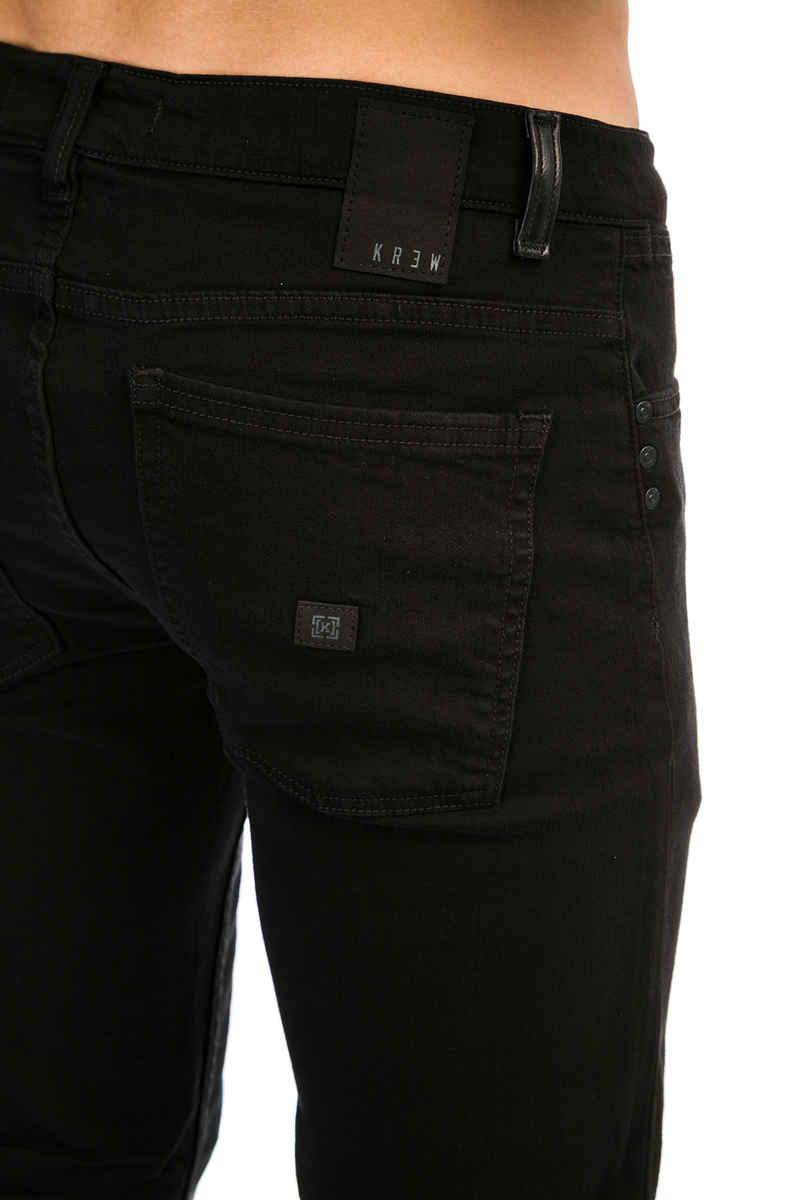 KR3W K Slim Jeans  (jet black)