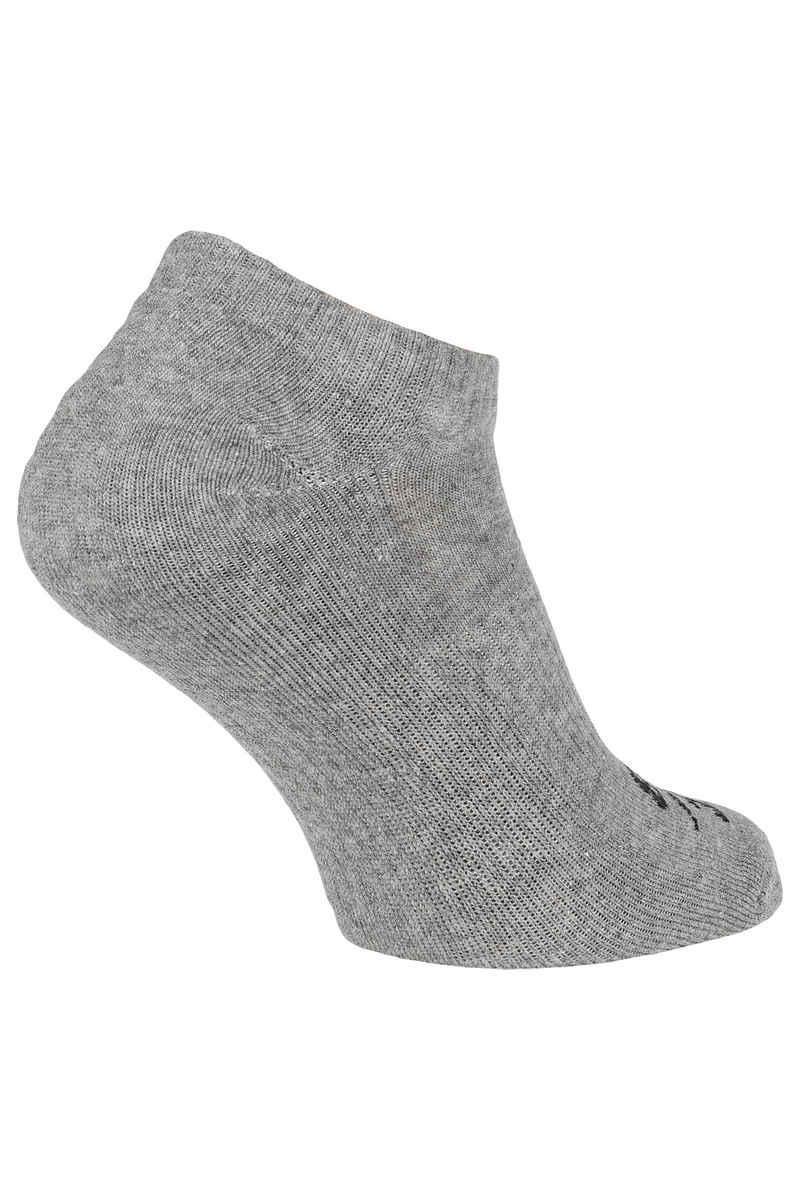 Nike SB No-Show Socks US 3-12 (dark grey heather) 3 Pack