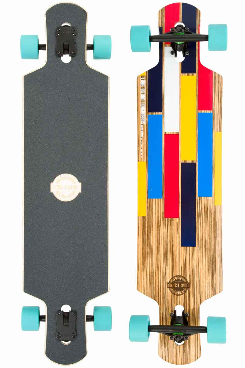 "Long Island Bushido 40.37"" (102,54cm) Longboard-completo"