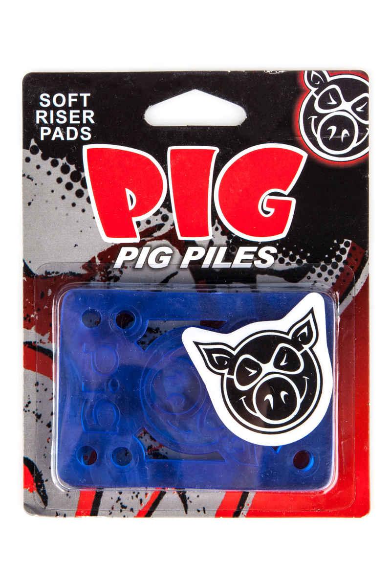 "Pig Piles 1/8"" Shock Pads (blue) 2 Pack"