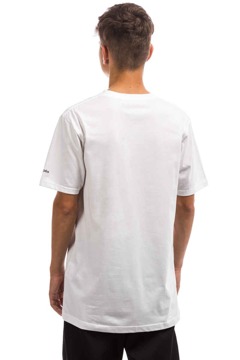 Cleptomanicx Möwe T-Shirt (white black)