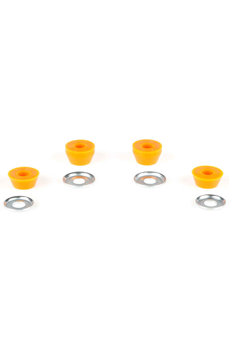 Independent 90A Standard Conical Medium Bushings (orange) 2 Pack