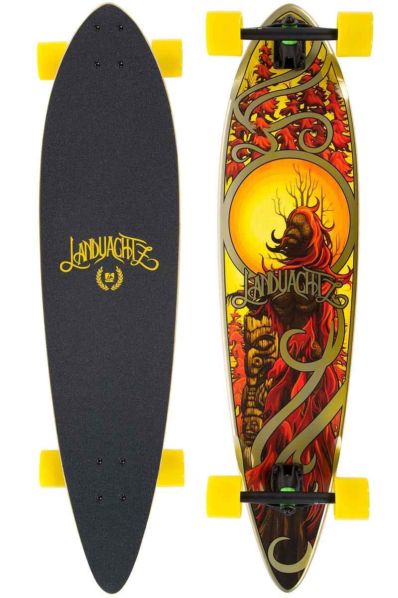 "Landyachtz Bamboo Totem Chili 41"" (104,1cm) Longboard-completo"