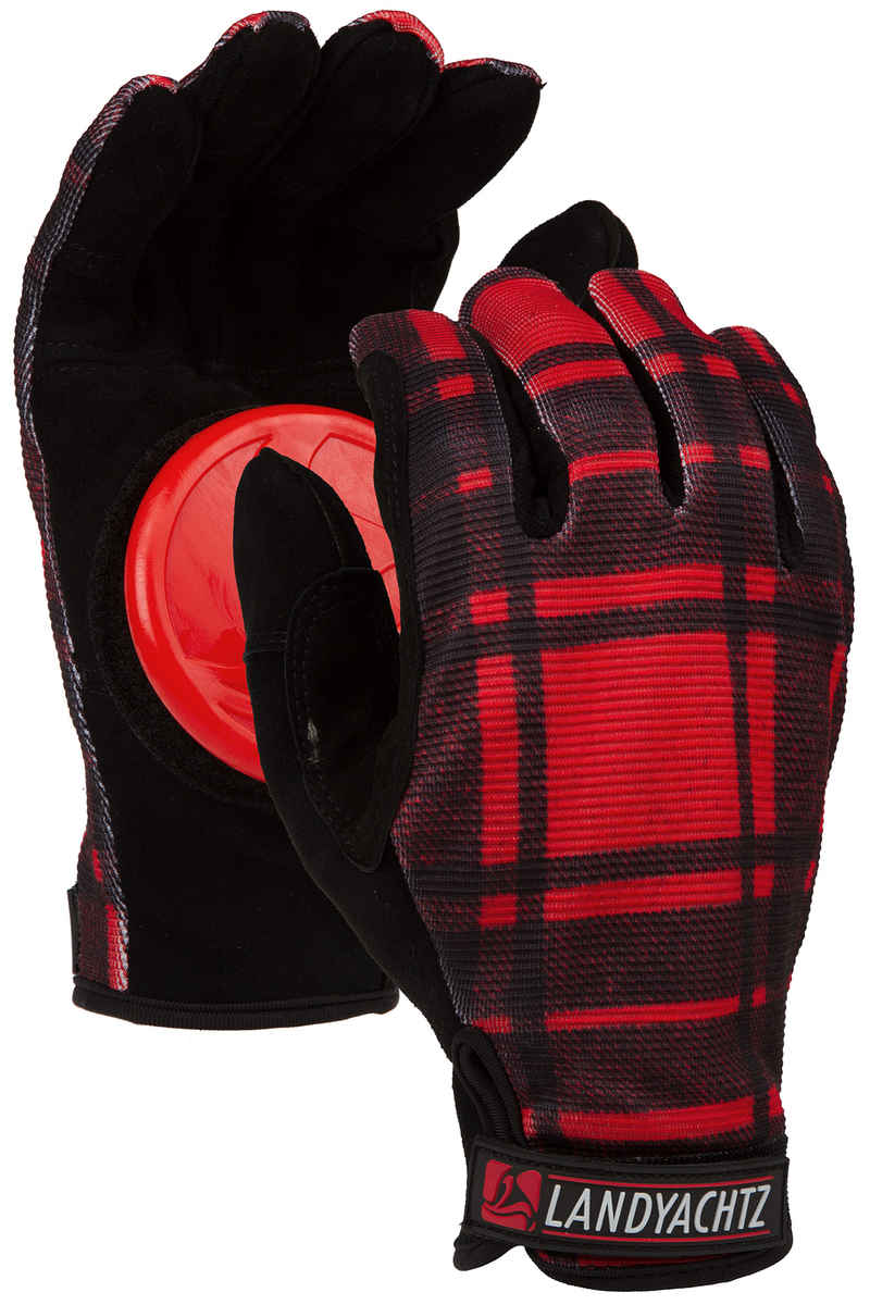 Landyachtz Flannel Freeride Slide Gloves