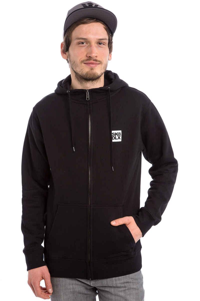 SK8DLX Coresk8 Zip-Hoodie (black)