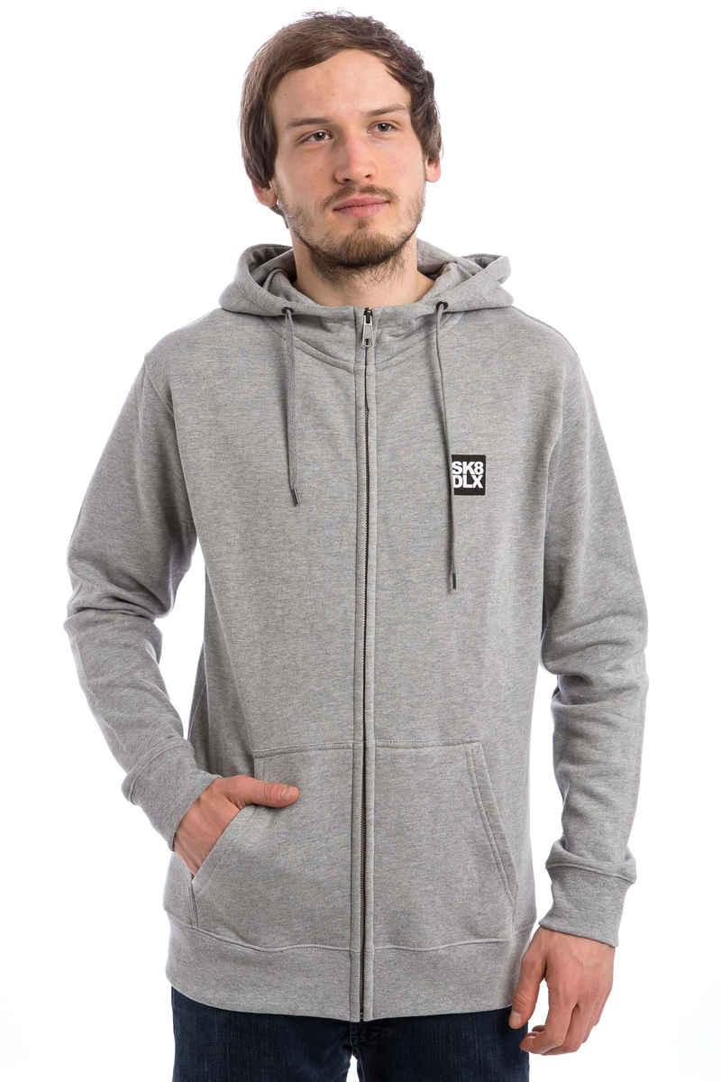 SK8DLX Coresk8 Zip-Hoodie (heather grey)